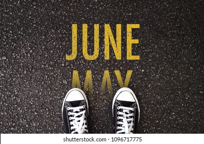 Steps forward to July on the road.  May this month have a successful start and a lot of great achievements in the end!
