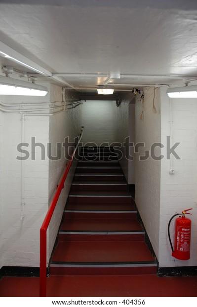 steps leading up
