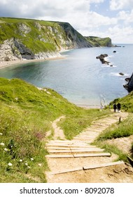 Steps Leading To A Man o' War bay