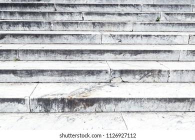 Steps of a limestone background.
