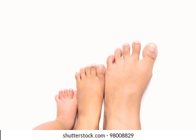 Steps to success - multi size foot from infant, young children and adult