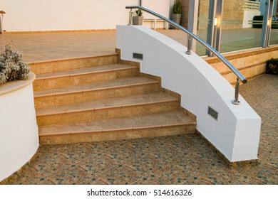 steps of the tiles