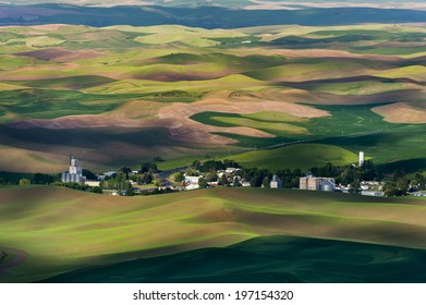 Steptoe Butte State Park. This park is famous for its stark, dramatic beauty and the panoramic view it provides of surrounding farmlands, the Blue Mountains, and other neighboring ranges and peaks.