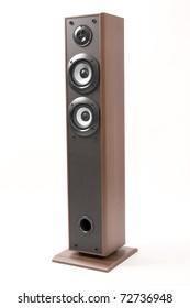 stereophonic loudspeaker