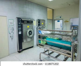 Sterile Processing room and equipment in Hospital