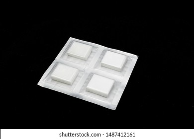 sterile unused blood tampon isolated
