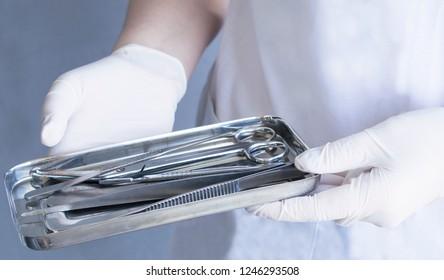 Sterilization of medical surgical instruments