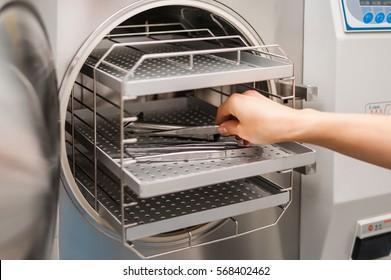 Sterilization systems. Preparation for sterilization