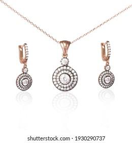 sterling silver women's jewelry set