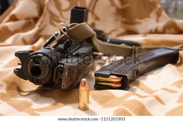 Sterling Sub Machine Gun Stock Photo (Edit Now) 1151201903