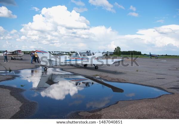Sterlitamak Bashkortostan Russia 06112011 Ultralight