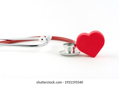 stethoscope and heart, a concept of heart