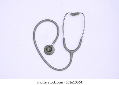 Stethoscope in heart form