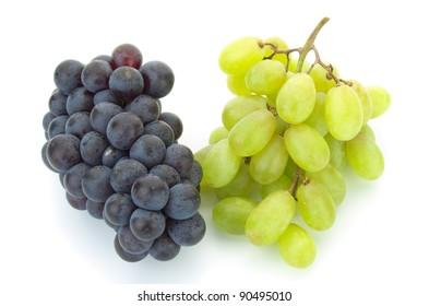 Steuben Grapes and Pristine Grapes