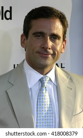 "Steve Carell at the Los Angeles premiere of ""The 40 Year Old Virgin"" held at the ArcLight Theatre in Hollywood, USA on August 11, 2005."