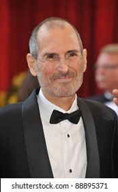 Steve Jobs at the 82nd Annual Academy Awards at the Kodak Theatre, Hollywood. March 7, 2010  Los Angeles, CA Picture: Paul Smith / Featureflash