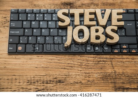 steve jobs word made