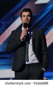 "Steve Jones at ""The X Factor"" Press Conference, CBS Televison City,  Los Angeles, CA 12-19-11"