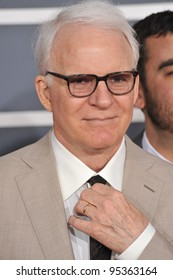 Steve Martin at the 54th Annual Grammy Awards at the Staples Centre, Los Angeles. February 12, 2012  Los Angeles, CA Picture: Paul Smith / Featureflash