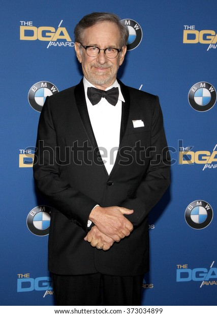 Steven Spielberg at the 68th Annual Directors Guild Of America Awards held at the Hyatt Regency Century Plaza in Los Angeles, USA on February 6, 2016.