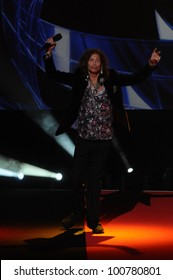 "Steven Tyler at the ""American Idol"" Season 10 Judges Announcement, Forum, Inglewood, CA. 09-22-10"