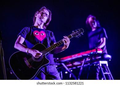 Steven Wilson performance at Rock Werchter Festival, Werchter, Belgium 5-8 July 2018