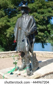 Stevie Ray Vaughan Memorial is a bronze sculpture of Stevie Ray Vaughan by Ralph Helmick, located at the Lady Bird Johnson  Hike and Bike Trail in  Austin, Texas
