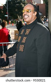Stevie Wonder  at the 39th NAACP Image Awards held at the SHrine Auditorium, Los Angeles Photo