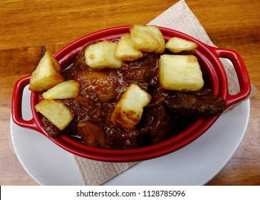 Stew meat with potatoes