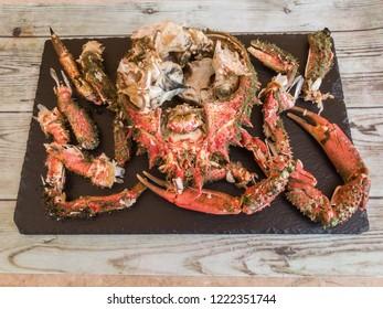 Stew spider crab