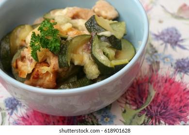 Stew of zucchini