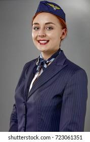 stewardess woman