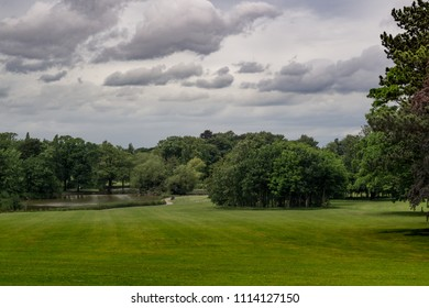 Stewart Park in Middlesbrough. Teesside. North east of England.