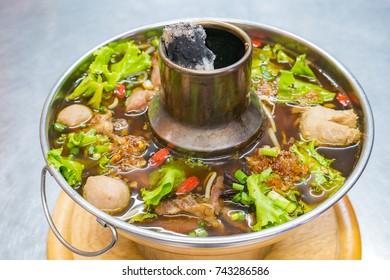 Stewed Beef hot pot
