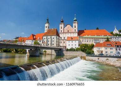 Steyr, Austria, Steyr and Enns rivers