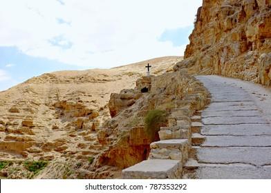 St-Georges monastery, Wadi Qelt, West Bank, Palestine
