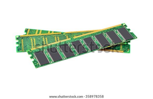 Stick of computer random access memory (RAM)