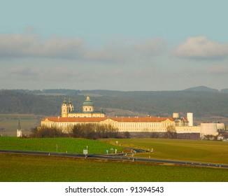 """Stift Melk"" monastry Melk, Wachau Cultural Landscape - UNESCO World Heritage Site"