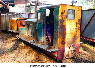 Still actively used special locomotive for the peat narrow-gauge railway, year of construction 1958, Dead Moor near Neustadt, Hanover district, Lower Saxony, Germany