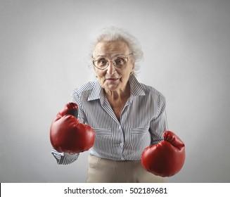 Still being a fighter