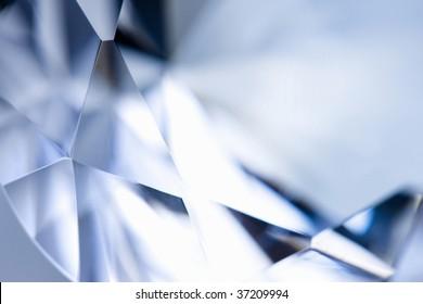 Still Image- close-up shot of a beautiful diamond