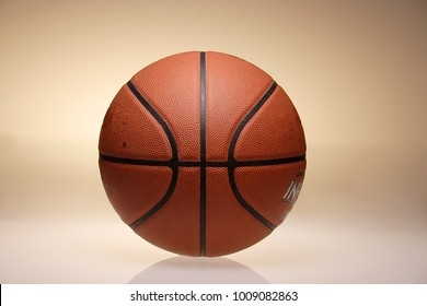 STILL LIFE OF BASKETBALL