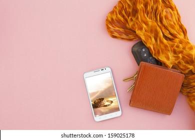 Still life cell phone