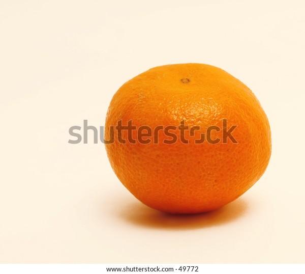 Still Life of Clementine Orange