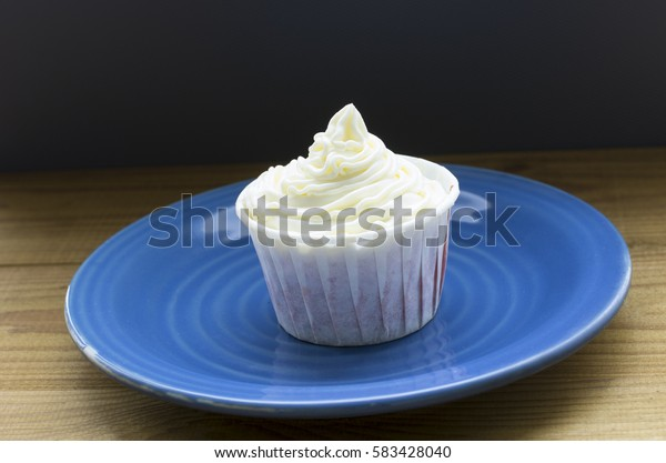 still life of cupcakes on a tray
