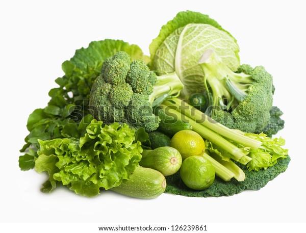 still life of fresh cabbage