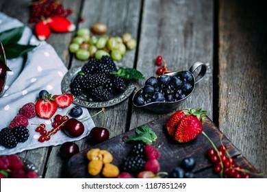 Still life is fruit