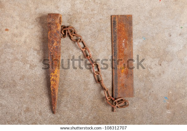Letter Made Out Of Objects.Still Life Letter Alphabet Made Trash Stock Photo Edit Now 108312707