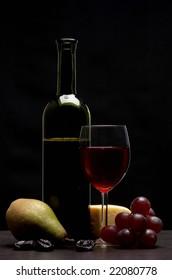 Still life - red wine
