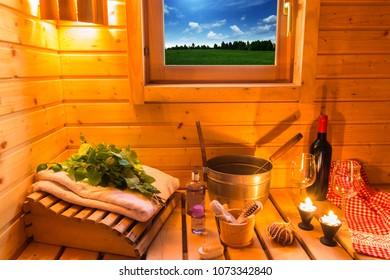 Still Midsummer celebrations in the Finnish sauna